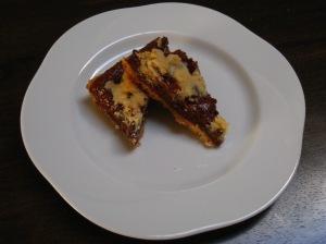 Chocolate Walnut Crumb Bar