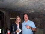 Cellar tasting at Mosel Landhause in Briedern