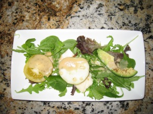 Baby Arugula & Baby Greens Salad