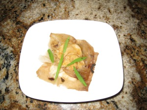 Homemade Prawn Ravioli in Sage Brown Butter